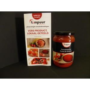 Tomatenpuree  650 ml Basis voor soep of pizza