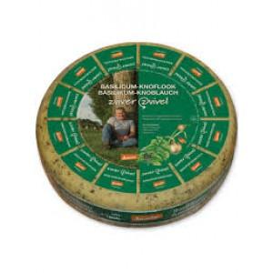Basilicum-knoflook kaas per 500 gram