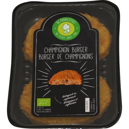 Vegetarische Champignonburgers 2x 80 gram