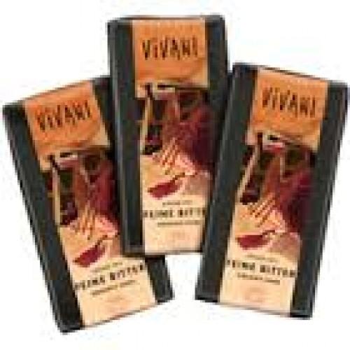 Chocoladetablet puur 75% cacao 80 gram