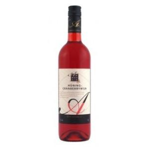 Honing Cranberry wijn 0.75 liter