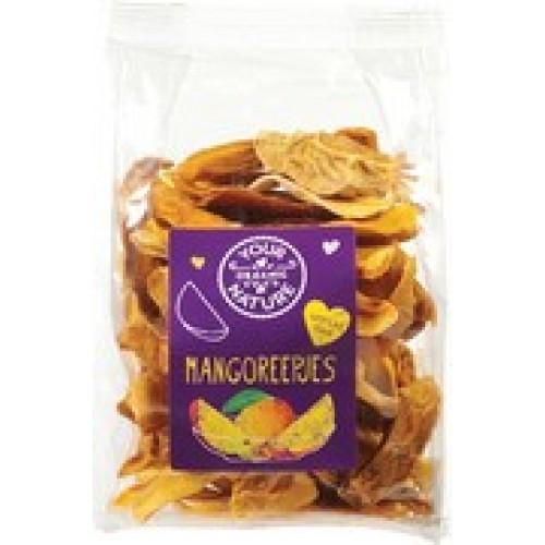 Gedroogde Mangoreepjes  200 gram