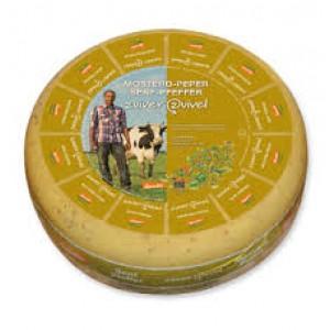 Mosterd-peper kaas per 500 gram