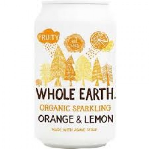 Sparkling Orange en Lemon per blikje 330 ml