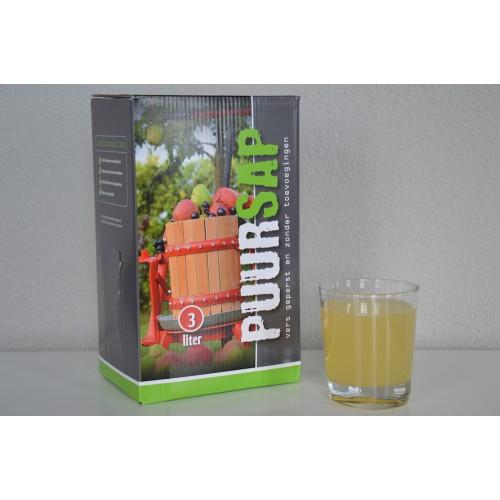 Saptap met appel peer 5 liter