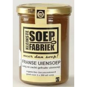 Franse uiensoep 400 ml