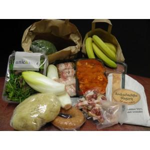 NIEUW Weekpakket met groentetas fruittas en vlees