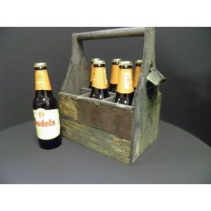 Bier kratje leuk Kerst idee